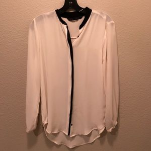 Zara Button Down Blouse